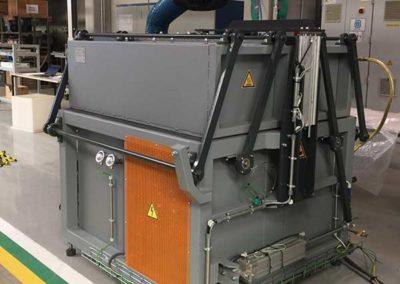 Four De Galvanisation De Fil En Acier par ALM Industry à Courcelles en Belgique