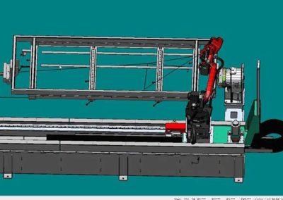 Gabarit De Soudure Par Robot par ALM Industry à Courcelles en Belgique