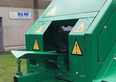 Ecabosseuse EcoPro par ALM Industry à Courcelles en Belgique